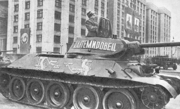 Танк Т-34 кантемировец