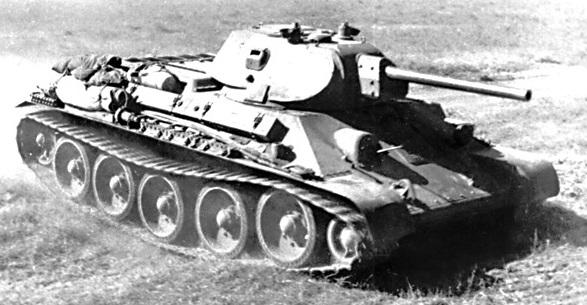 Танк Т-34 фотография