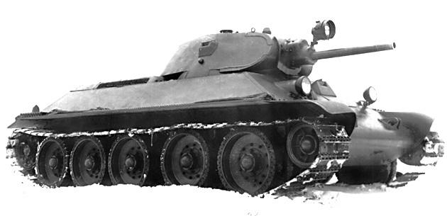 Танк Т-34 зима