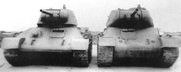 Танк Т-34 модификации