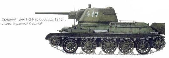 Танк Т-34 с шестигранной башней