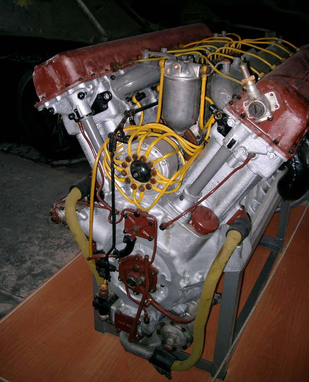Танк Т-34 двигатель