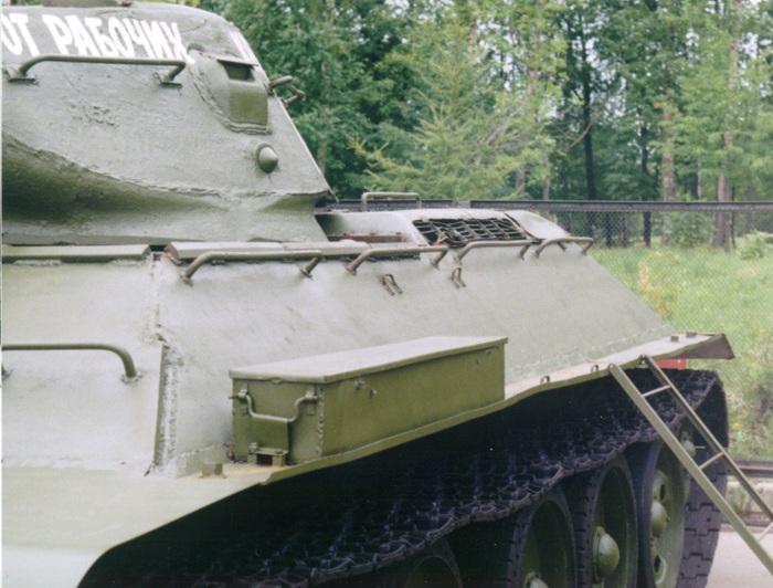 Танк Т-34 инструментальный ящик