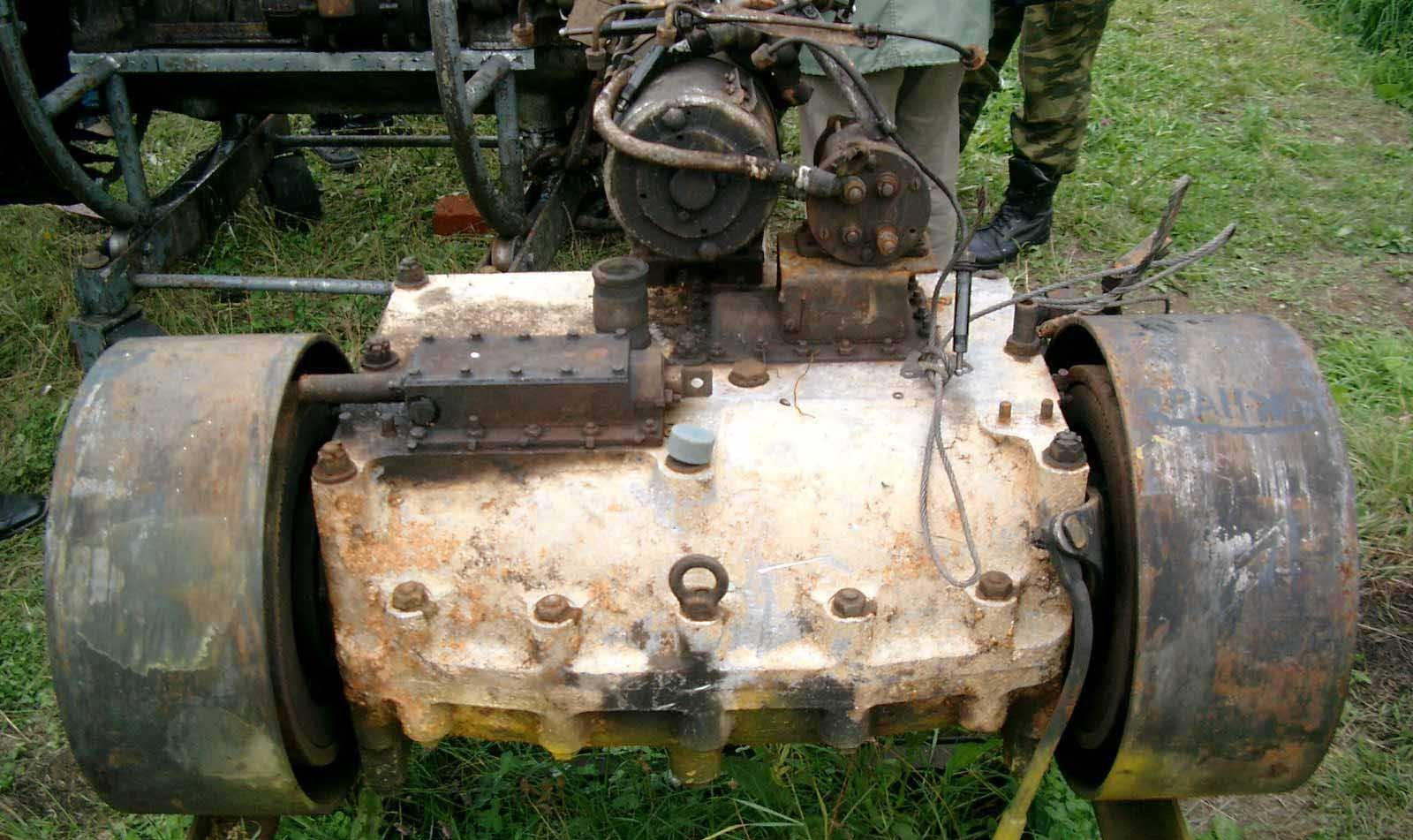 Танк Т-34 коробка передач
