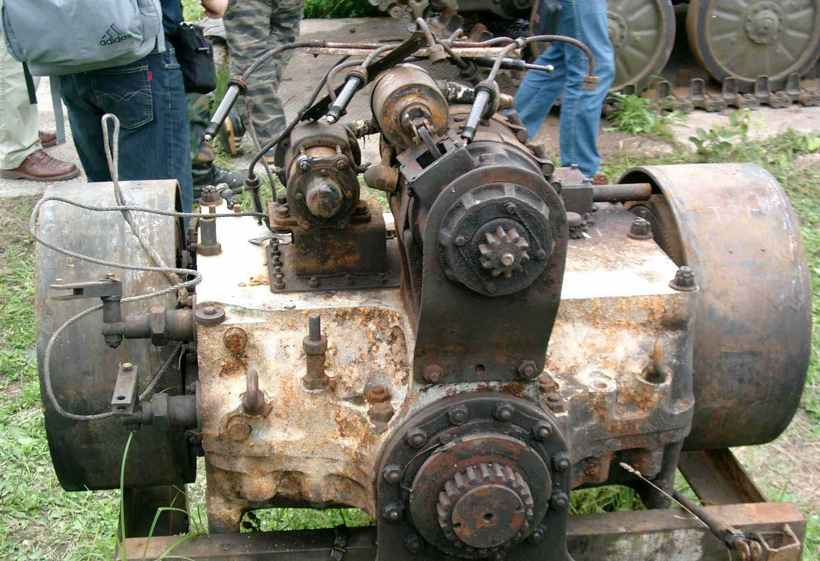 Танк Т-34 стартер