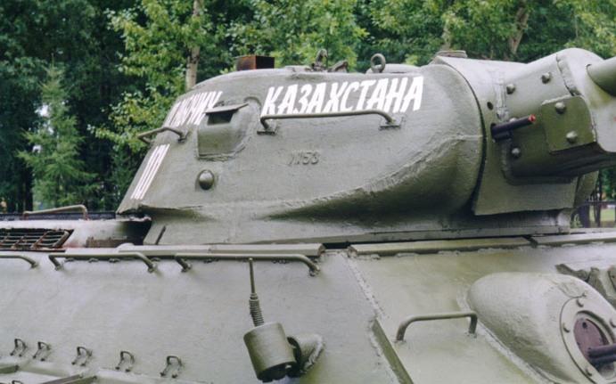 Танк Т-34 башня вид справа