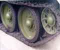 танк Т-34 передние колёса