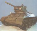 танк Т-34 вид спереди слева