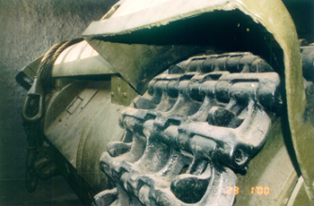 Танк Т-35, траки