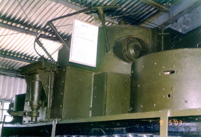 Танк Т-35, башни