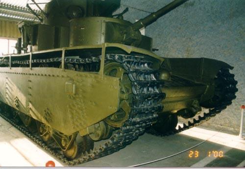 Танк Т-35, защита бортов