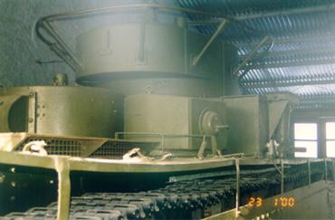 Танк Т-35, башня сзади