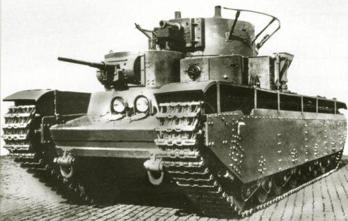Танк Т-35, командирский танк