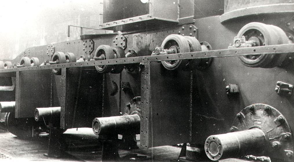 Танк Т-35, бронирование бортов