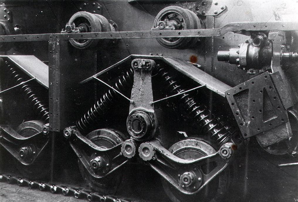 Танк Т-35, устройство трансмиссии