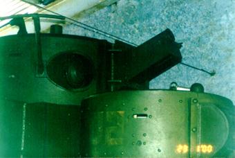 Танк Т-35, башня, вид справа