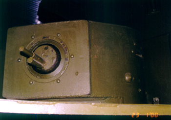 Танк Т-35, пулемётная башня