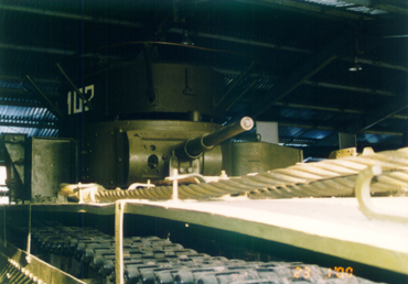 Танк Т-35, задняя башня