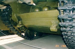 Танк Т-35, лобовая броня