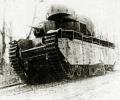 танк Т-35 на марше