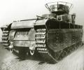 танк Т-35, фото сзади