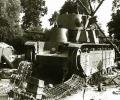 танк Т-35 подбитый в бою