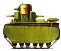 танк Т-35, схема окраски