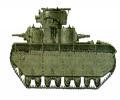 танк Т-35, камуфляж
