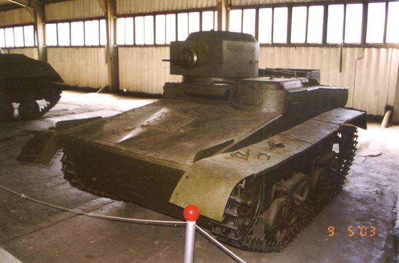 Танк Т-37, в музее