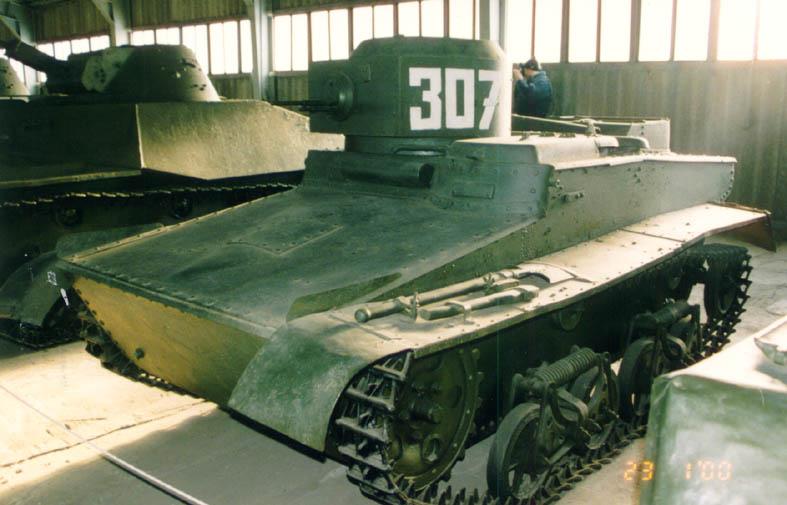 Танк Т-37, номер 307