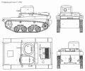 танк Т-37, чертёж танка Т-37А