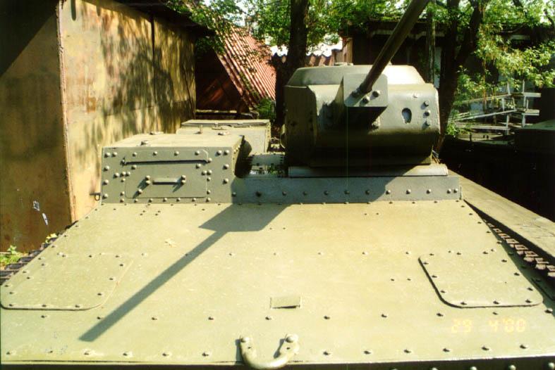 Танк Т-38, вид спереди