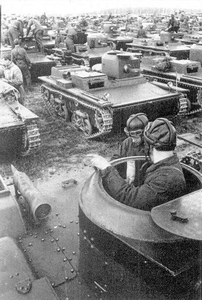 Танк Т-38, в строю