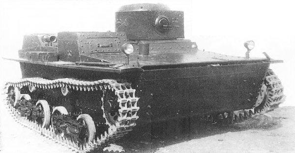 Танк Т-38, на старой фото