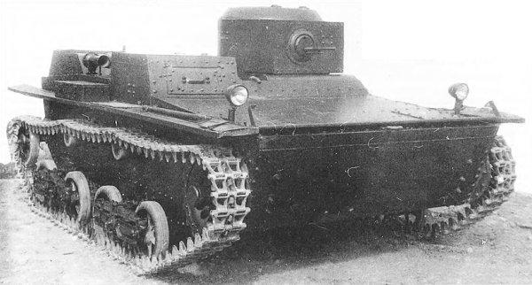 Танк Т-38, историческое фото