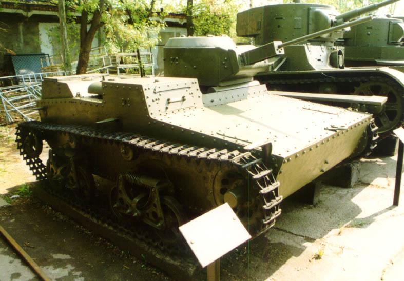 Танк Т-38, в музее