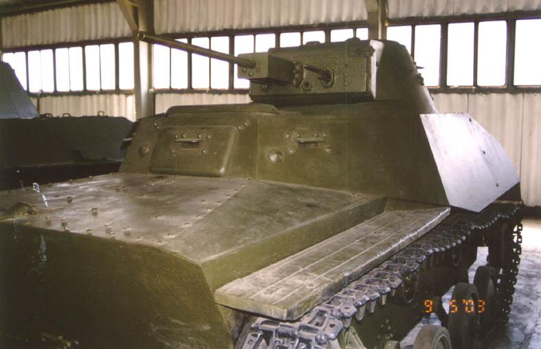 Танк Т-40, в Кубинке