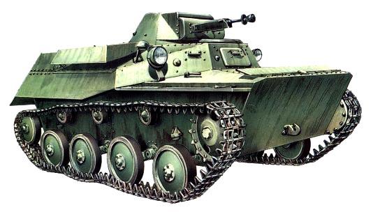 Танк Т-40, рисунок