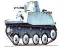 танк Т-40, зимний камуфляж