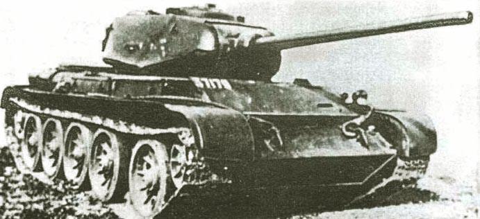 Танк Т-44, историческая фотография