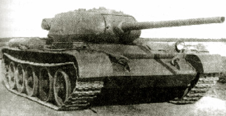 Танк Т-44, в поле