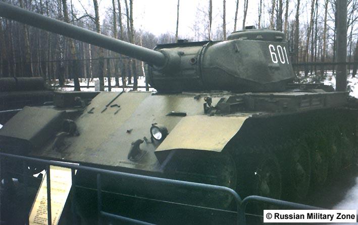 Танк Т-44, под открытым небом
