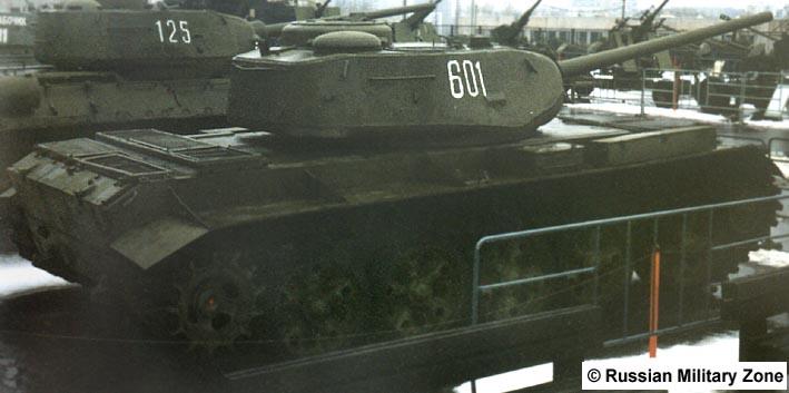 Танк Т-44, на выставке