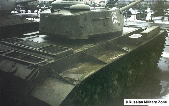 Танк Т-44, экспонат