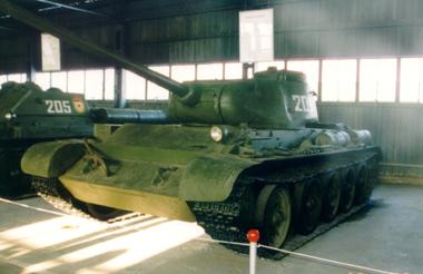 Танк Т-44, в музее