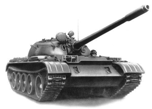 Танк Т-44, рисунок
