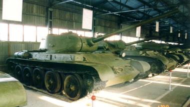 Танк Т-44, музейный экспонат