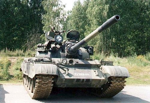 Танк Т-44, с фарой искателем