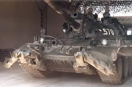 Танк Т-44, с доп. оборудованием