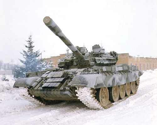 Танк Т-44, на манёврах